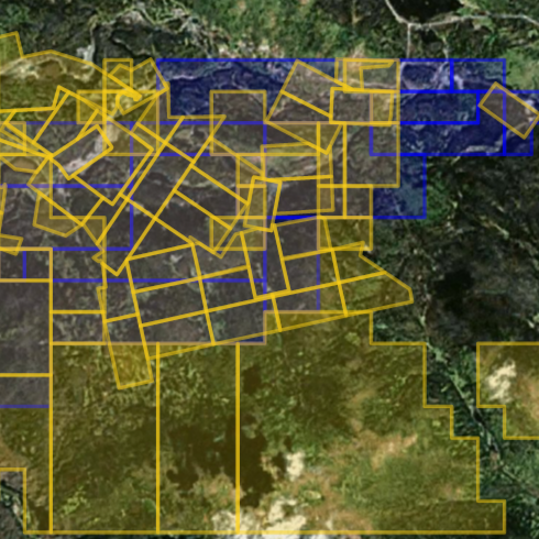 Home Mining Claims Mapping - Up to date satellite maps online